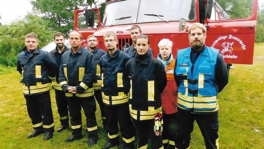 Motorisierter Feuerwehrmarsch der Feuerwehren